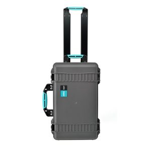 HPRC HPRC2550WSSKBLB | Valigia in resina HPRC 2550W con ruote per il trasporto di attrezzatura audio/video/foto | Trolley