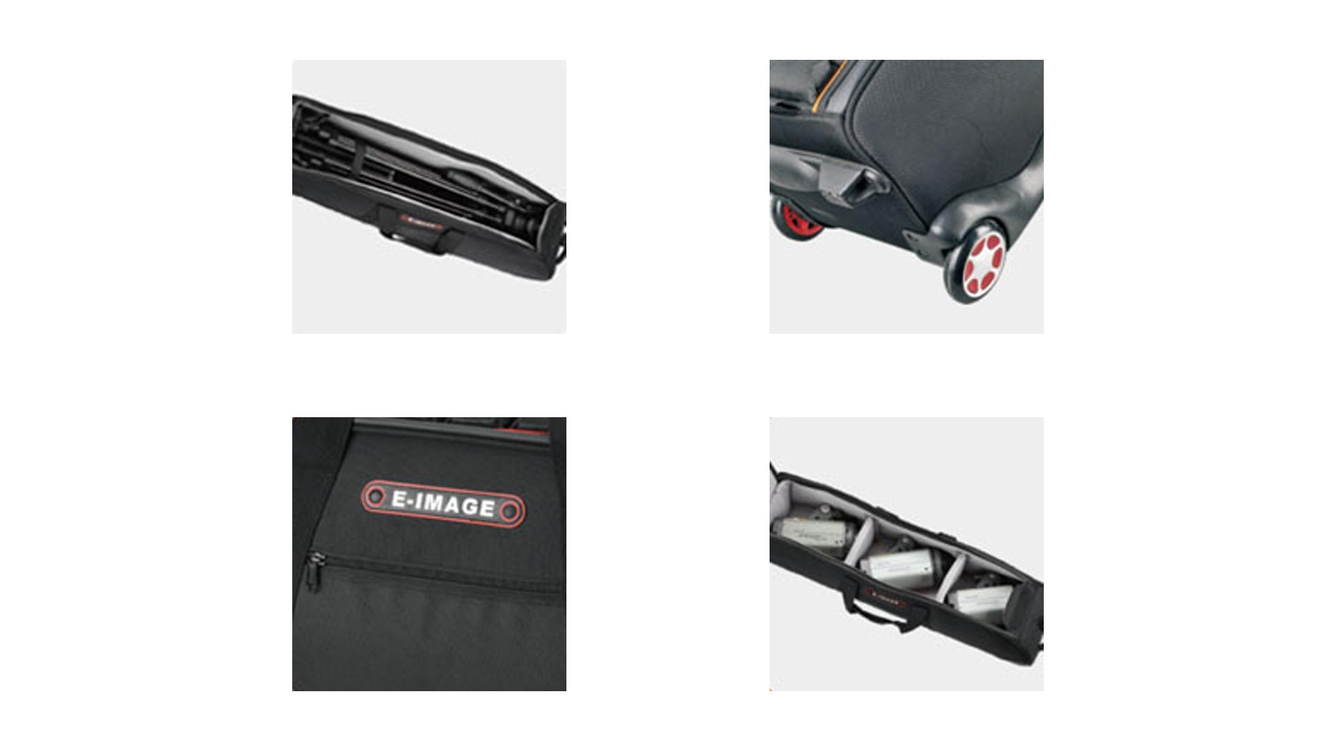 E image EB0921 | Harmony T50 borsa morbida per treppiede | Trolley