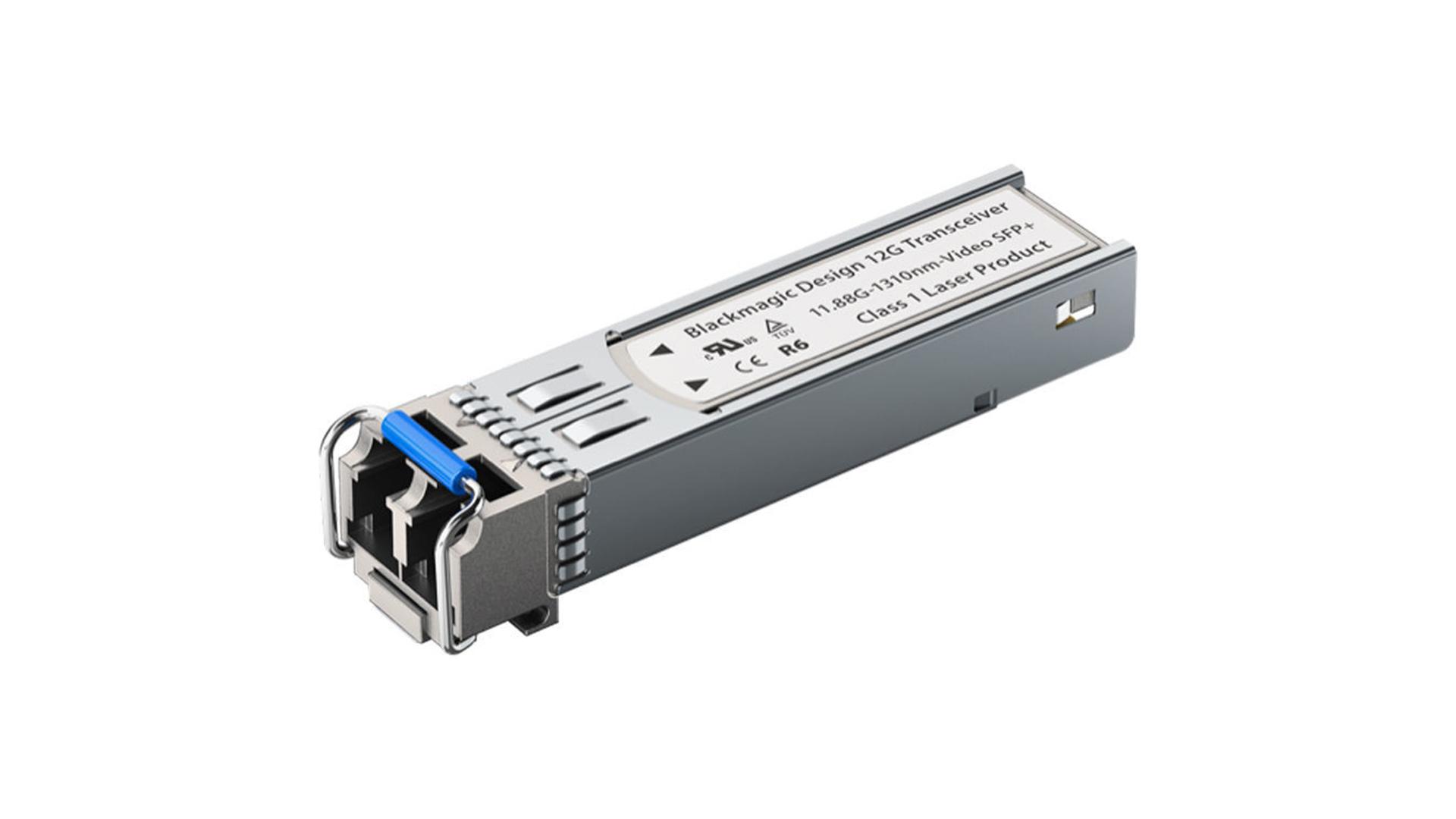 Blackmagic ADPT 12GBI/OPT   Modulo 12G SDI SFP per cavo ottico   Convertitori   Distributori