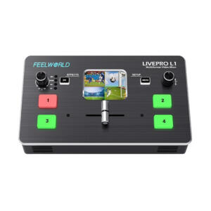 Feelworld LIVEPRO L1 | Livepro L1 mixer video HDMI per streaming | Switcher | Mixer video | Matrici | Streaming
