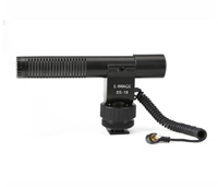 DS-18 On-camera microphone for DSLR, camcoders and portable recorders