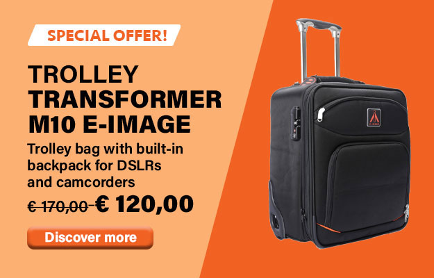 Transformer M10 Rolling camera bag for camcorders and DSLR